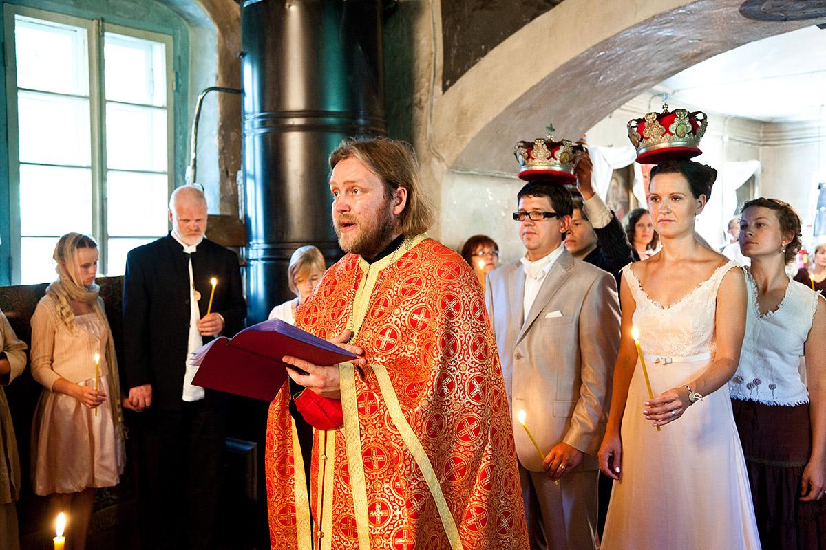 Laulatus Setomaal Saatse Püha Paraskeva kirikus 2011. aastal