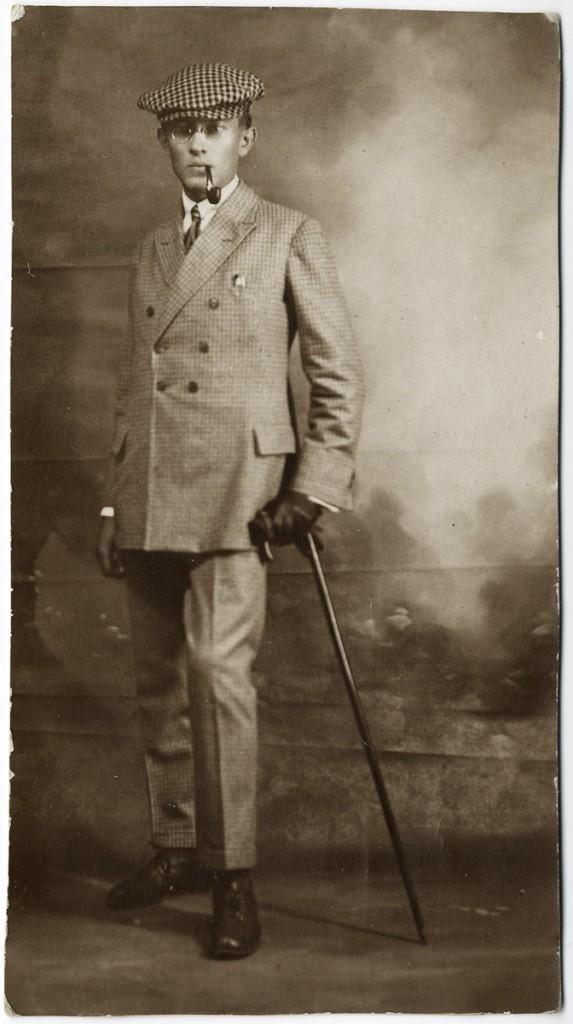 Aleksander Mülber. 1921. foto ERA4146.1.7.lk 4.7