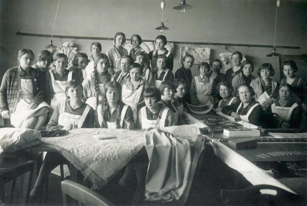 6_Kunstt33stuskooli _6pilased 1928_erakogu