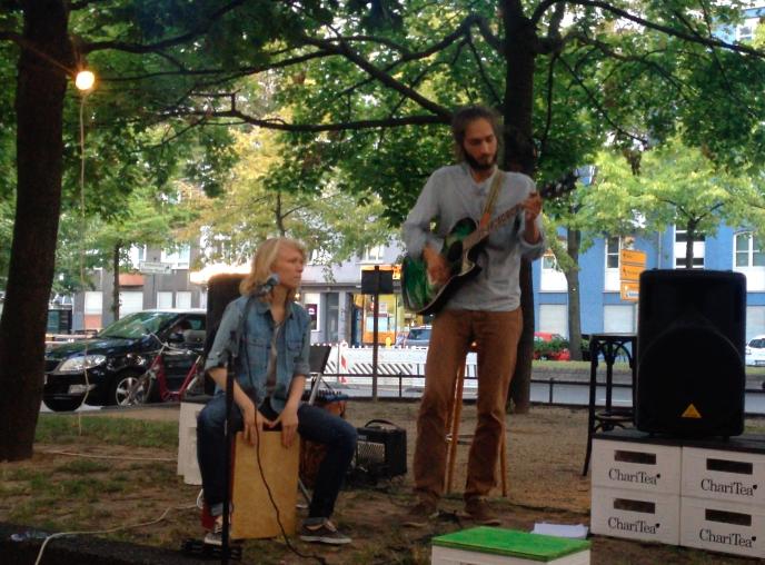 Katrin ja Henri Berliinis vabal laval